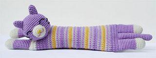 Gatto astuccio amigurumi by Hobby Uncinetto, via Flickr