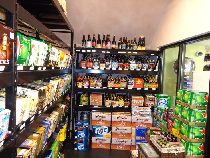 Handy Store Fixtures Beer Cave Shelving For A New