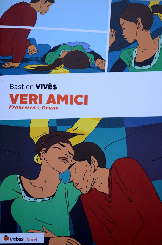 """Veri amici. Francesca e Bruno"", Bastien Vivès, thebox | Novel."