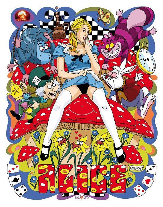 naughty alice in wonderland squirts