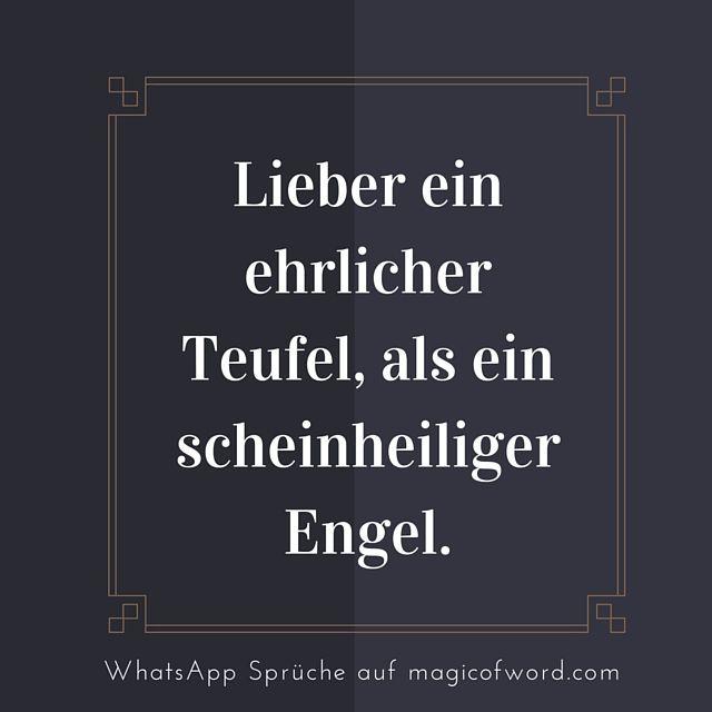 WhatsApp Status Spruch, mehr auf http://www.magicofword.com/sprueche/whatsapp-status-sprueche
