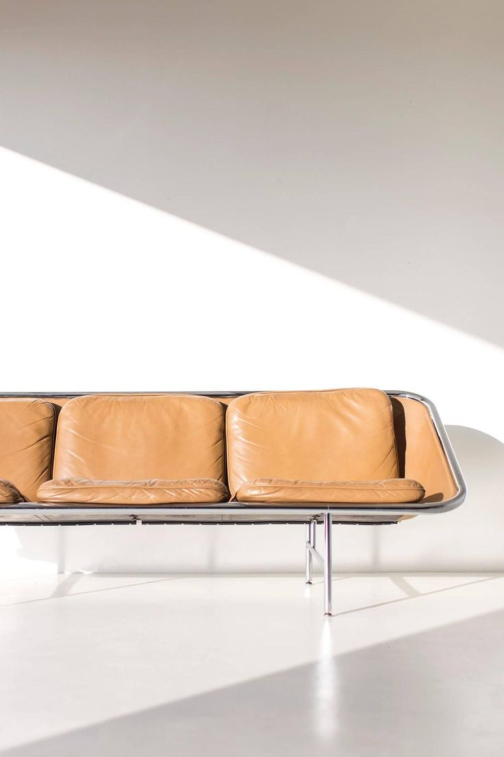 George Nelson Sling Sofa for Herman Miller | From a unique collection of antique and modern sofas at https://www.1stdibs.com/furniture/seating/sofas/