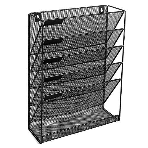 Veesun Wall File Holder Organizer For Office Hanging Metal
