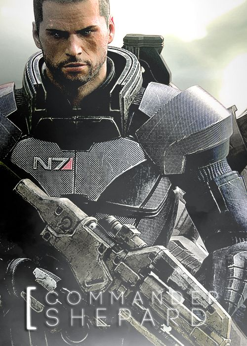 mass effect commander Shephard - need to photoshop this