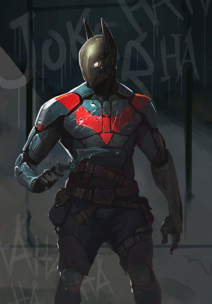 Batman Redesign by AlexTzutzy on deviantART   interesting mix...Nightwing, red hood, batman elements (maybe)