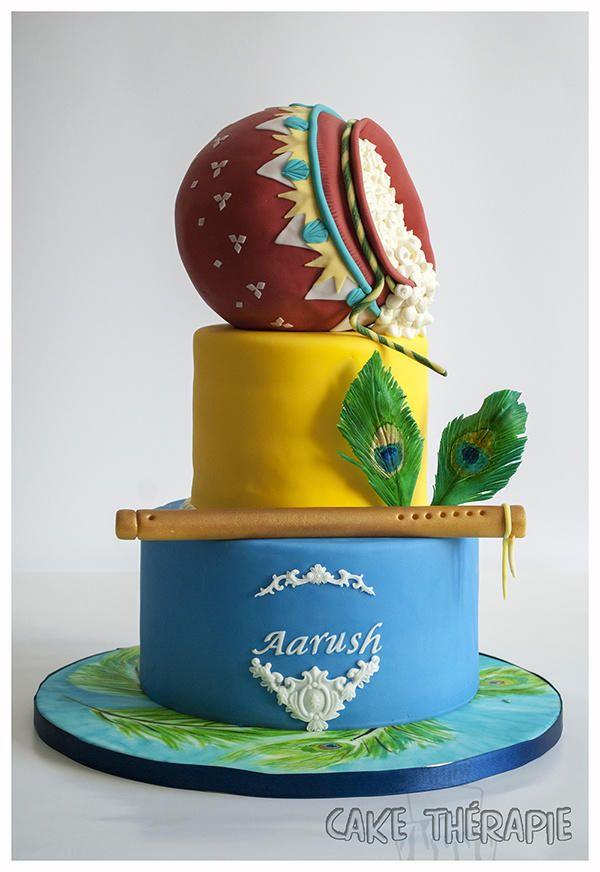 Little Krishna themed Birthday cake- Hindu Mythology theme - Cake by…