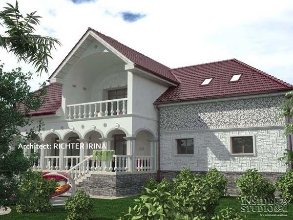 Загородный дом в Праге, Чехии.  Architect Irina Richter. INSIDE-STUDIO Prague
