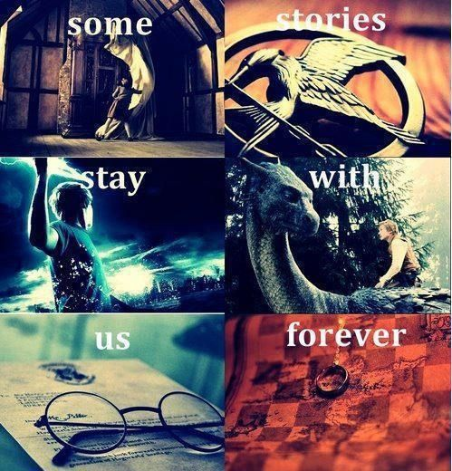 Narnia, Hunger Games, Percy Jackson, Eragon, Harry Potter and Lord of the Rings