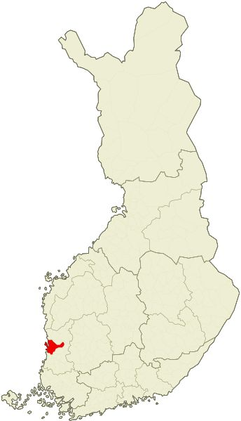 Pori, location in Finland