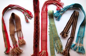 Taller de telar faja mapuche