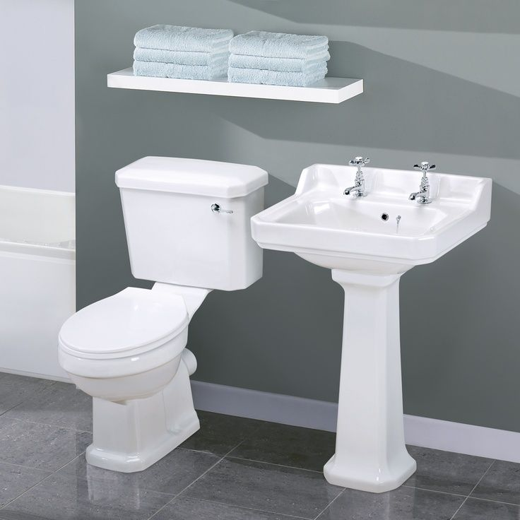 Carlton Traditional Toilet and Basin Set-One should think about who and how easy…   – most beautiful shelves