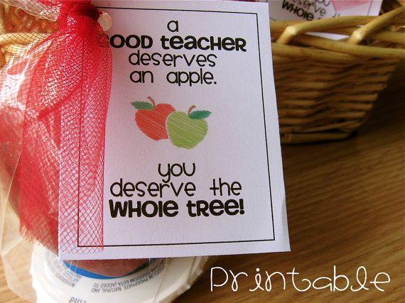 TEACHER: Appreciation Ideas, Teacher Gifts, Gifts Ideas, Teacher Appreciation Gifts, Teacher Handmade Gifts, Teacher Appreciation Apples, Teacher Deserve, Teacher Diy Gifts, Teachers