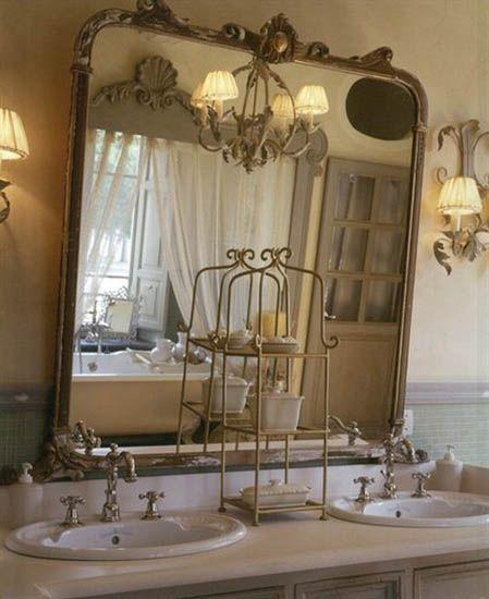 Baños Estilo Frances:French Style Bathroom Decor