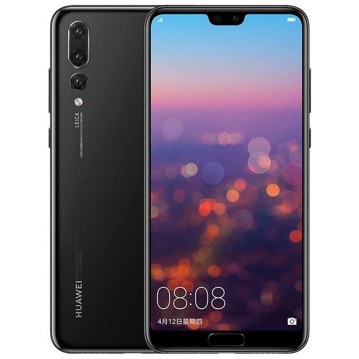 Huawei P20 Pro Android Phone 6 1 Inch Screen Kirin 970 Chipset 6gb Ram Fingerprint Nfc Otg Triple Back Cameras Black Huawei Smartphone Android Phone
