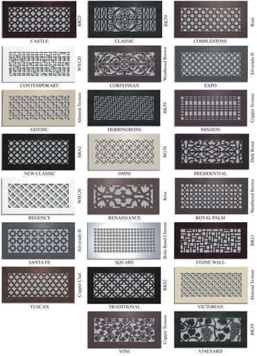 CUSTOM METAL REGISTERS AND AIR RETURN GRILLES - Vent Covers Unlimited