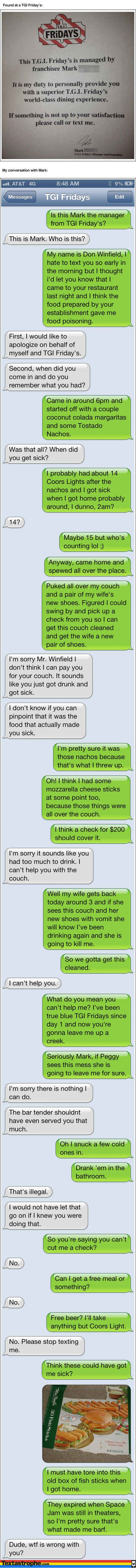 """The """"Food Poisoning"""". 