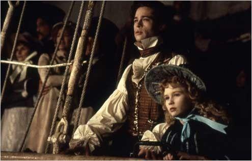 Entretien avec un vampire Claudie et Louis dans le bateaux ils regarde Lestat brûlé