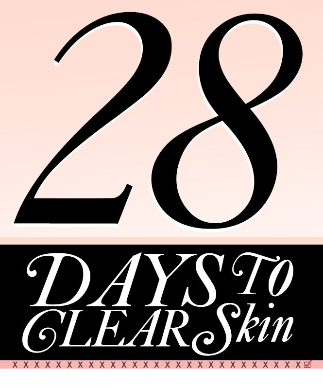 28 Tips For Clear Skin In Less Than A Month | One tip suggests dabbing a tiny bit of Visine on bright red pimples to take away the redness.
