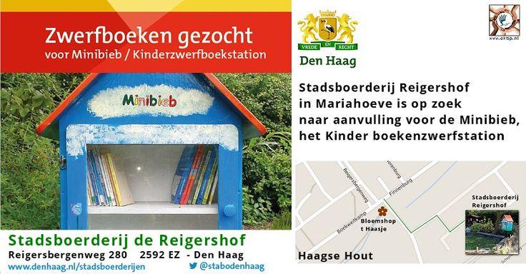 Reigershof Mariahoeve zoekt kinderboeken - http://www.oktip.nl/reigershof-mariahoeve-zoekt-kinderboeken/