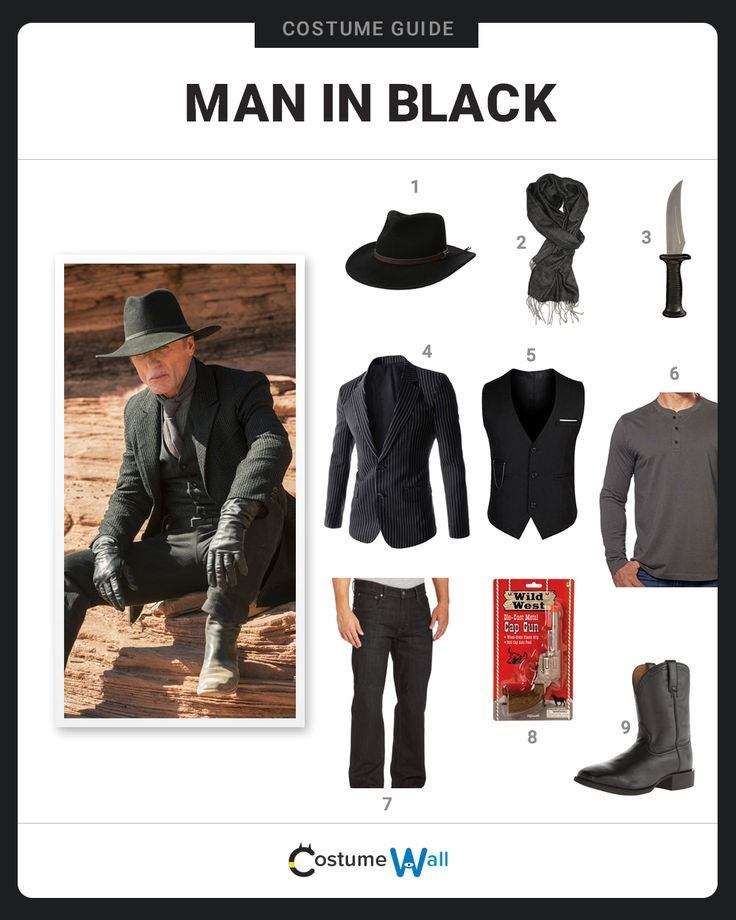 The mysterious Man In Black is portrayed by Ed Harris on the hit HBO show, Westworld.