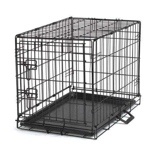 Petedge Easy Wire Dog Crate, Medium, Black - http://www.thepuppy.org/petedge-easy-wire-dog-crate-medium-black-2/