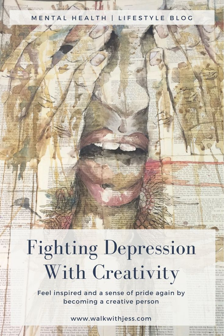 Fighting Depression With Creativity | WalkWthJess Mental Health & Lifestyle Blog