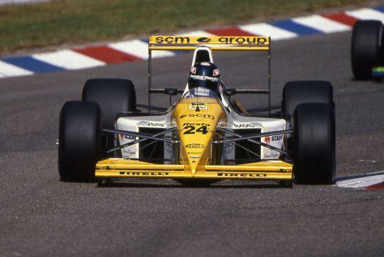 Paolo Barilla, Minardi-Ford M190, 1990 German GP, Hockenheimring
