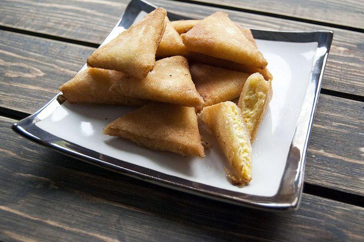 Receita passo a passo: Samosas ou chamuças indianas (Briouate marroquino)