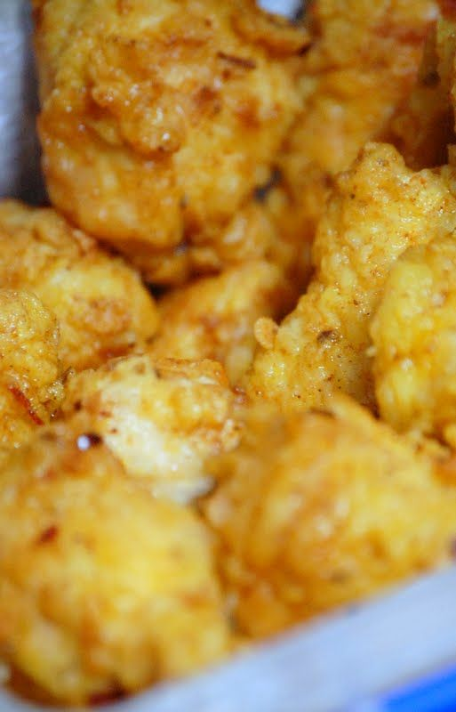 Day 9 - Cajun-Style Popcorn Chicken