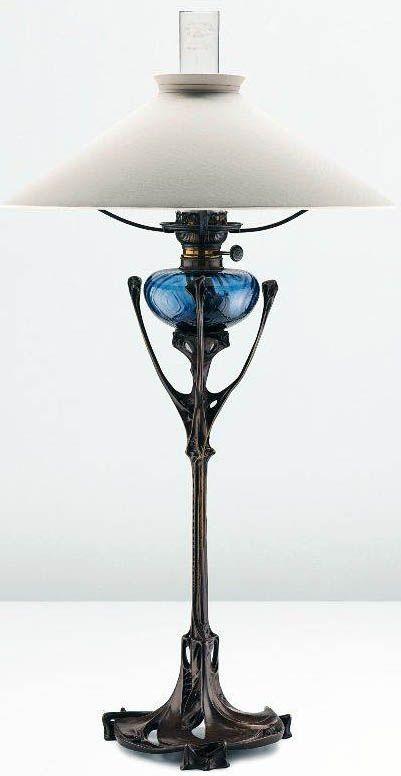 Hector Guimard - Art Nouveau - Lampe - Vers 1900