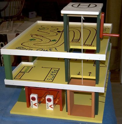 The RunnerDuck Parking Garage plan, is a step by step instructions on how to build a parking garage for kids.