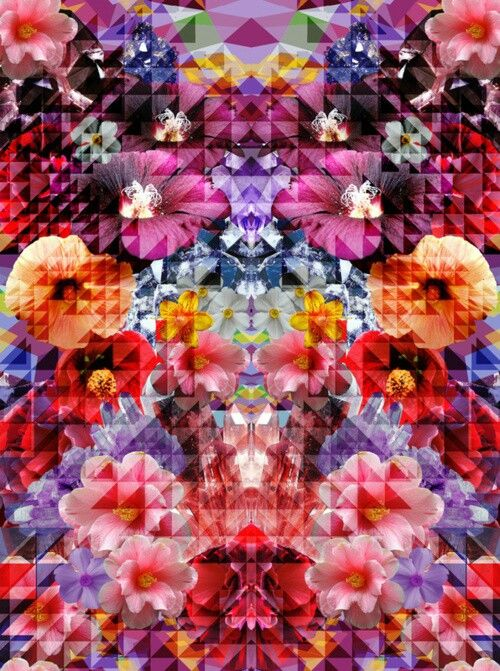 Floral Print #padronagem #ilustracao