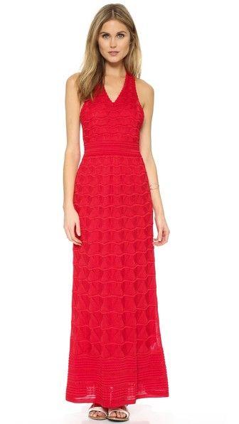 M missoni red dress killer