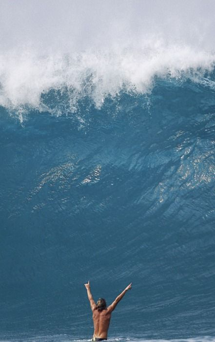 These waves are amazing...North Shore, Hawaii
