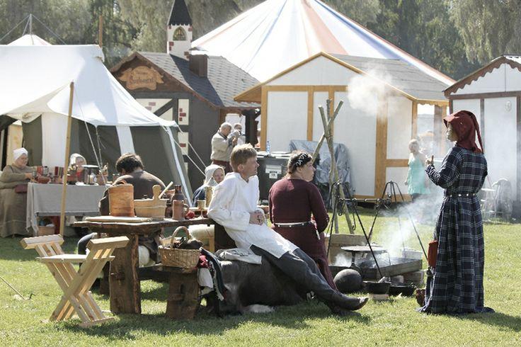Hämeen keskiaikamarkkinat - Häme Medieval Faire 2011, Leirielämää - Life in Medieval Camp, © Ulla Seppälä