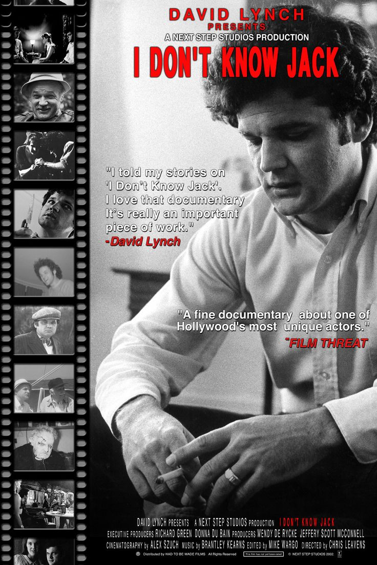 David Lynch Presents Jack Nance Documentary: I Don't Know Jack (Video)