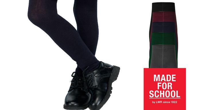 Our Lyell Girls Tights are perfect to keep your daughter's legs warm when wearing a dress this winter.  Grab some for school and play.