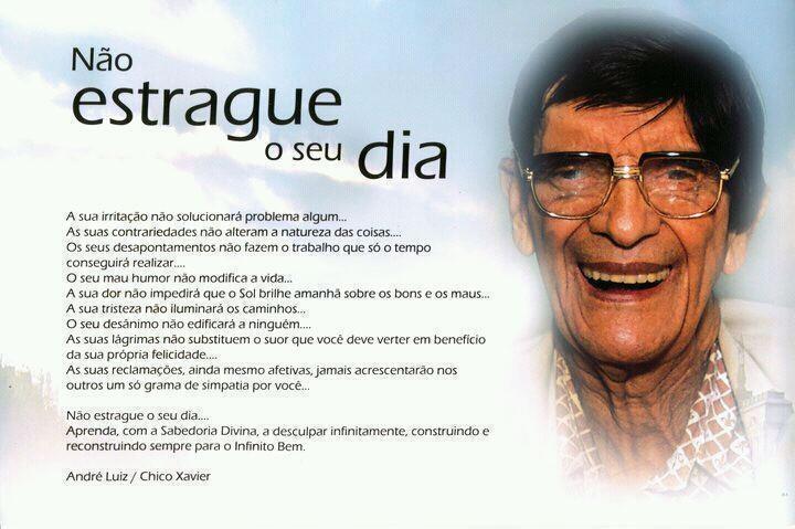 Bom Dia Espiritual: 104 Melhores Imagens Sobre Augusto Cury E Chico Xavier No