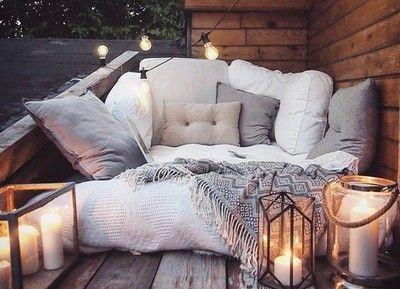 Met deze 12 items decoreer je de perfecte romantische tuin/balkon