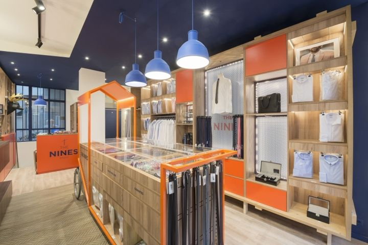 The Nines store by Alcmea Architectes Paris  France