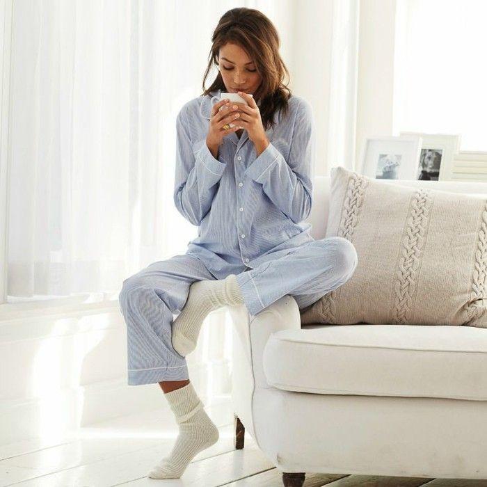 pyjamas chauds femme, pyjama femme pas cher