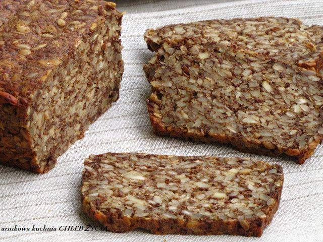 Arnikowa kuchnia: CHLEB ŻYCIA bez mąki
