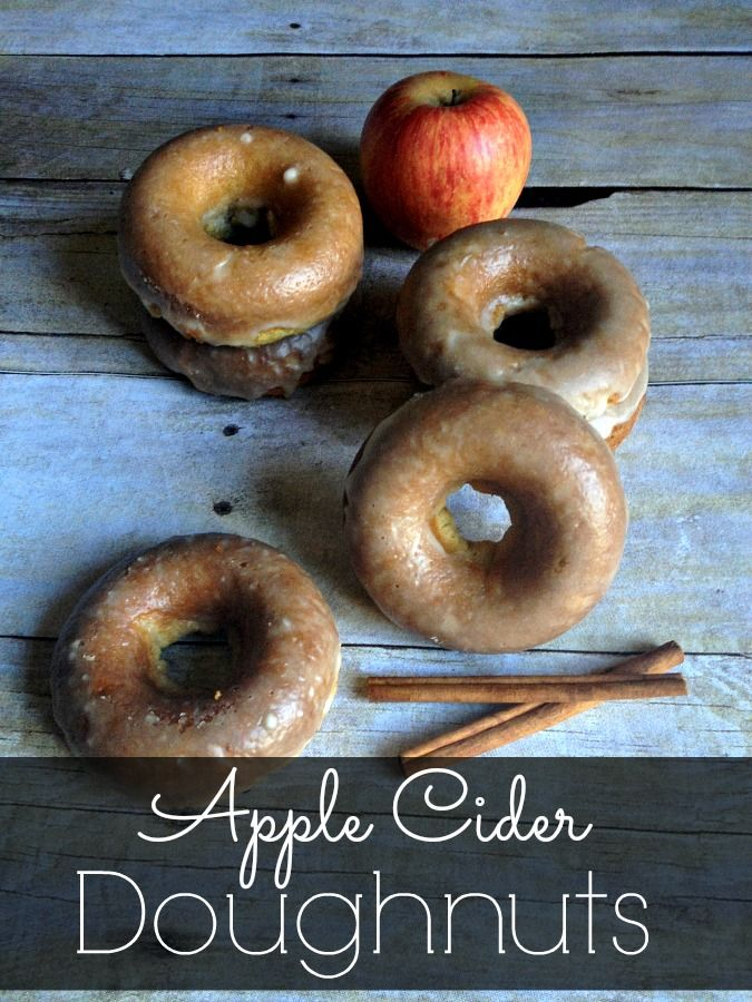 Enjoy the fall season with every sweet bite of my Baked Apple Cider Doughnuts.