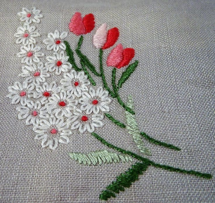 bonita combinación de flores y colores