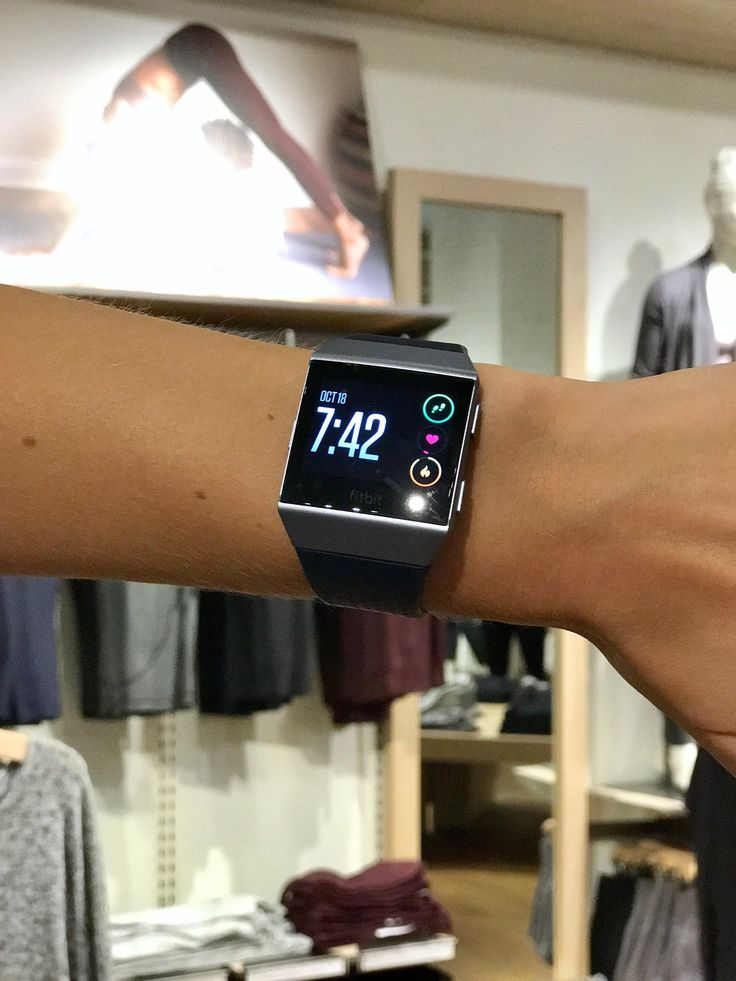 The Fitbit Ionic Combines the Best of Activity Tracking With Key Smart Watch Features