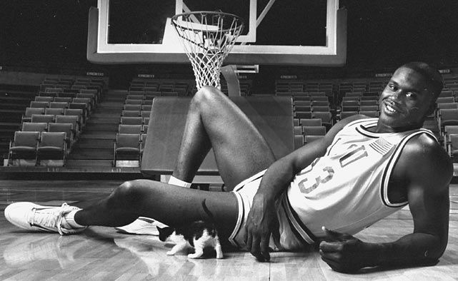 """""""Why don't you bring your face up here and let me punch it? Then you can tell me if I'm stronger."""" • Shaquille O'Neal"""