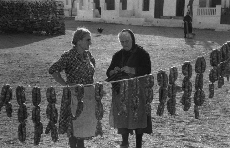 GREECE. Island of Mykonos. 1957. Rene Burri
