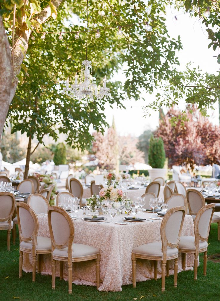 Fall Lakeside Al Fresco Wedding Wedding Reception