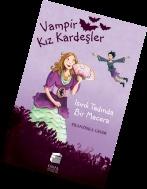 Vampir Kızkardeşler (2) - Isırık Tadında Bir Macera: Macera ikinci kitapta da devam ediyor! Daka ve Silvania, arkadaşları Helene'yi de alarak şehrin üzerinde çılgınca bir uçuş yaparlar ve kız kardeşler kendilerini bekleyen tehlikeye doğru süzülerek uçmaya başlarlar. (8 TL)
