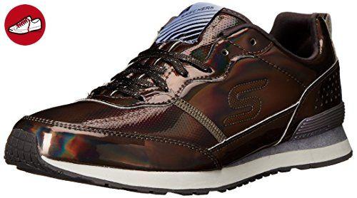 Skechers Retrospect, Damen Sneakers, Silber (PEW), 37 EU (*Partner-Link)